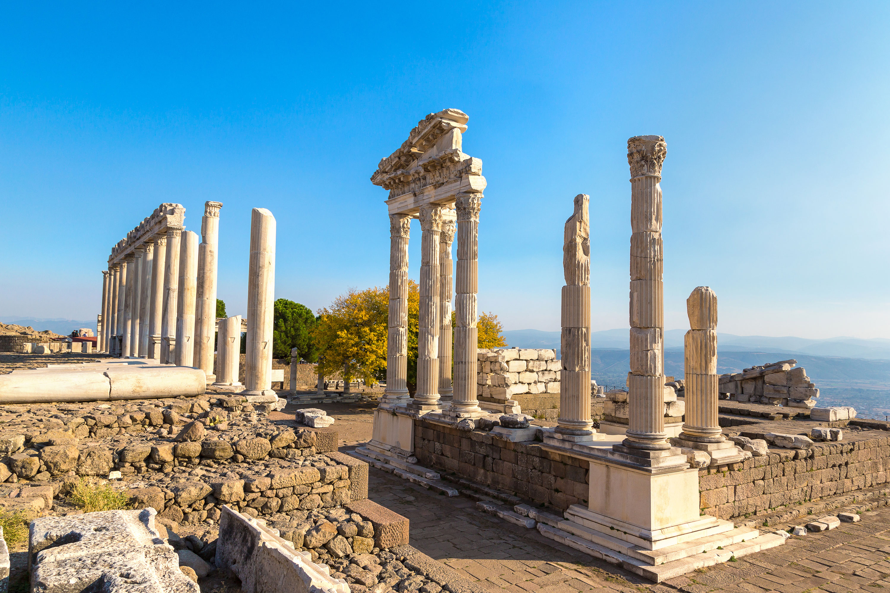 Temple of Trajan, Pergamon