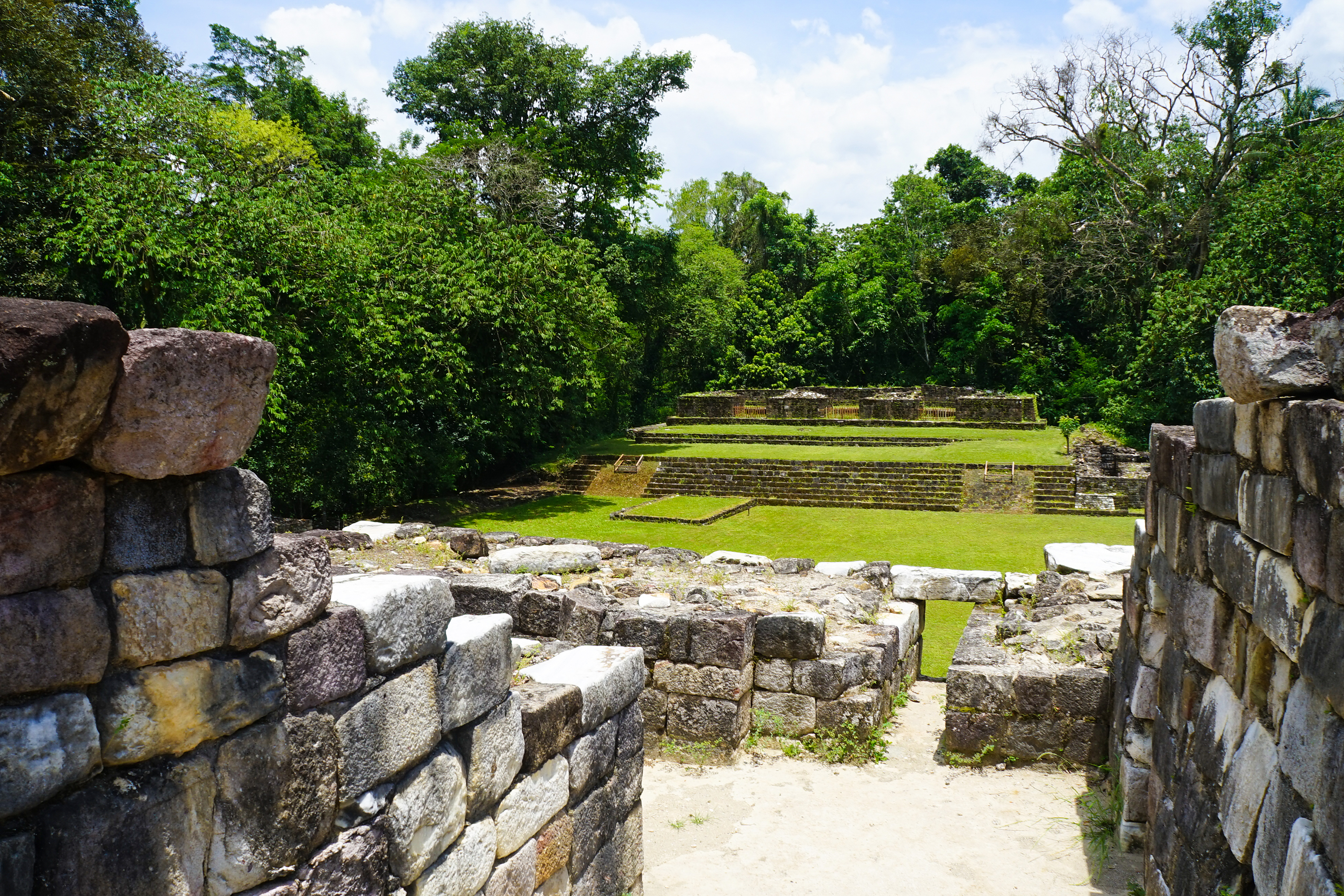 Temple ruins at Quirigua