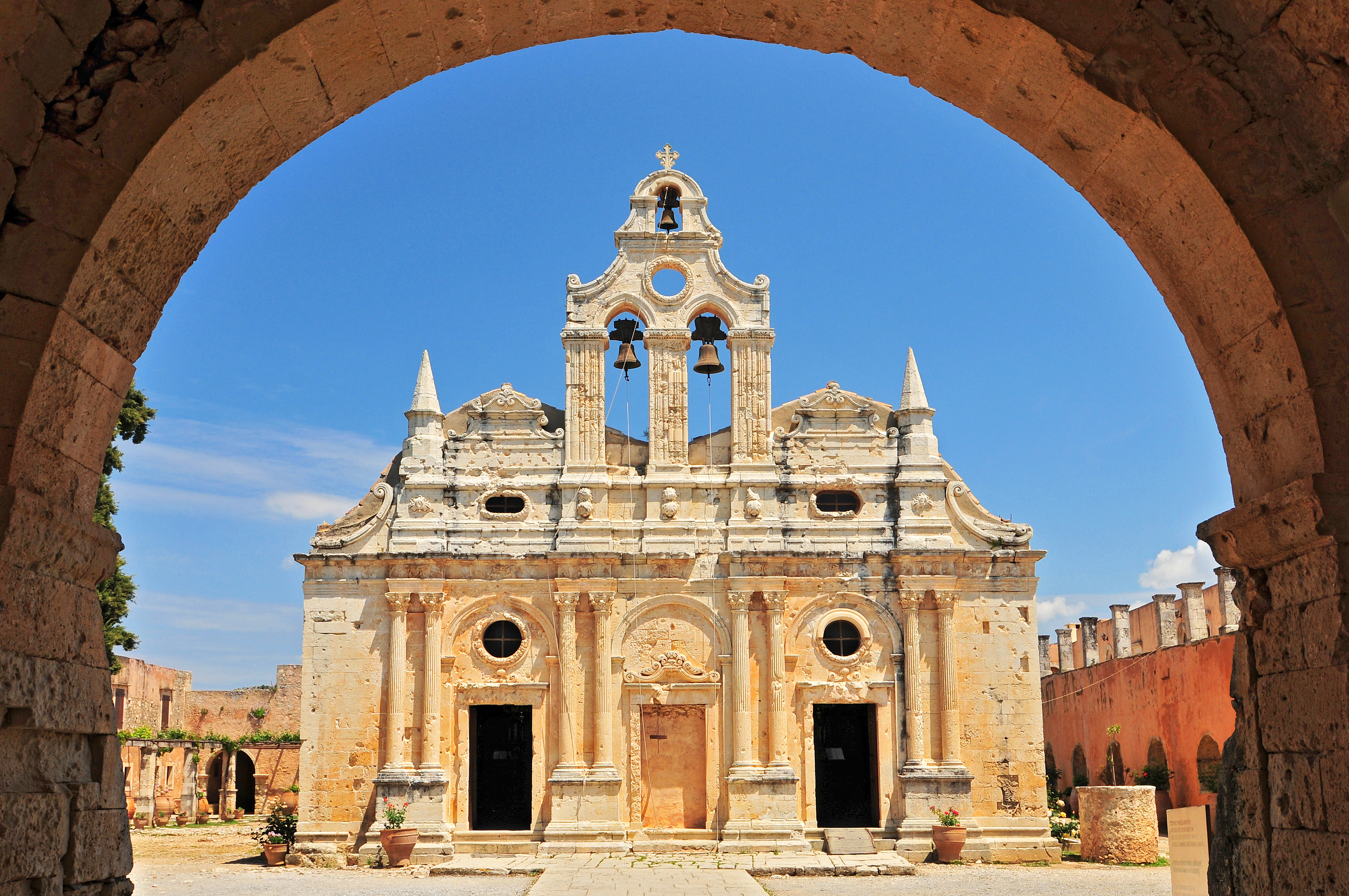 Church Arkadi Monastery, Crete