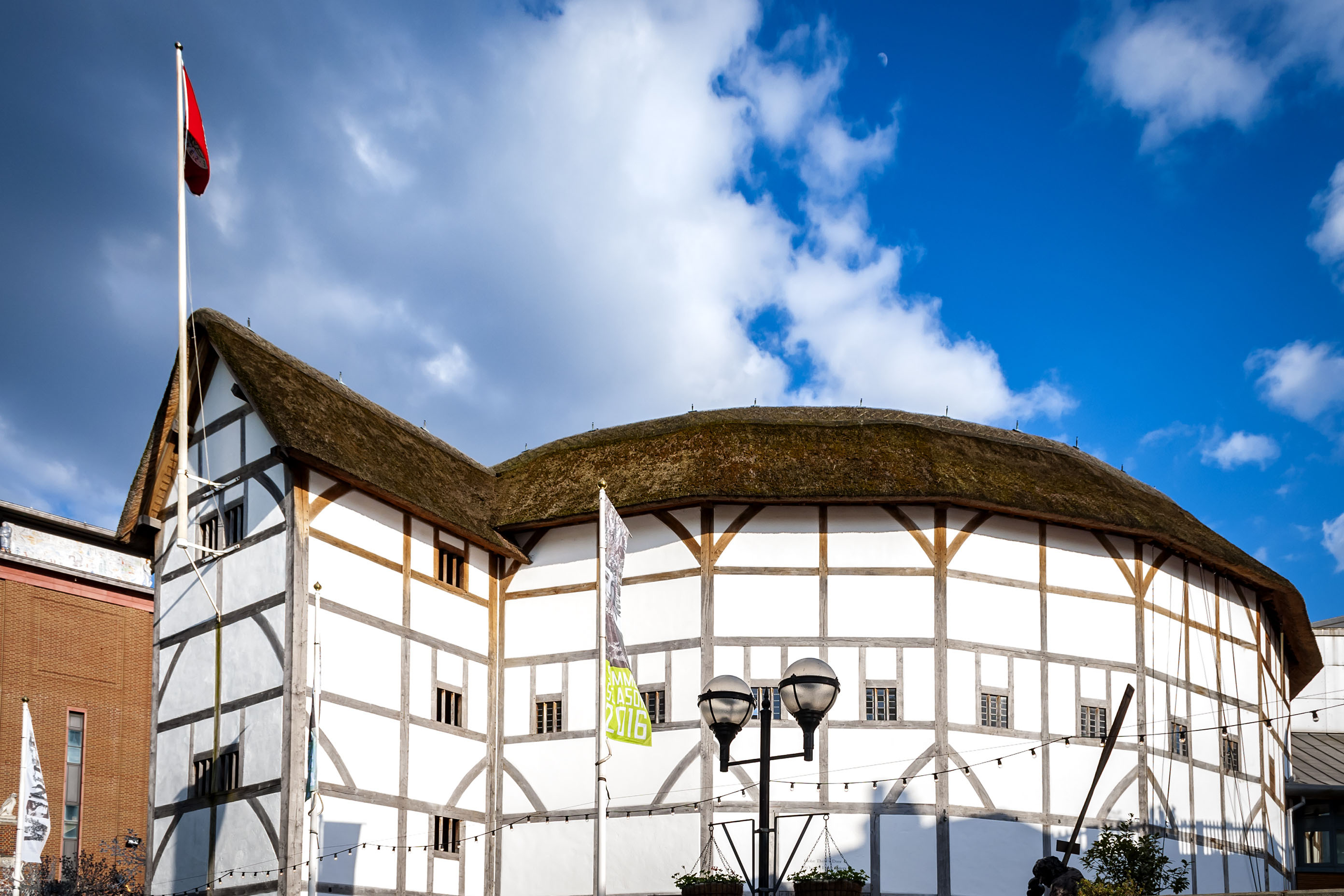 Shakespeare's Globe Theatre on London's Southbank