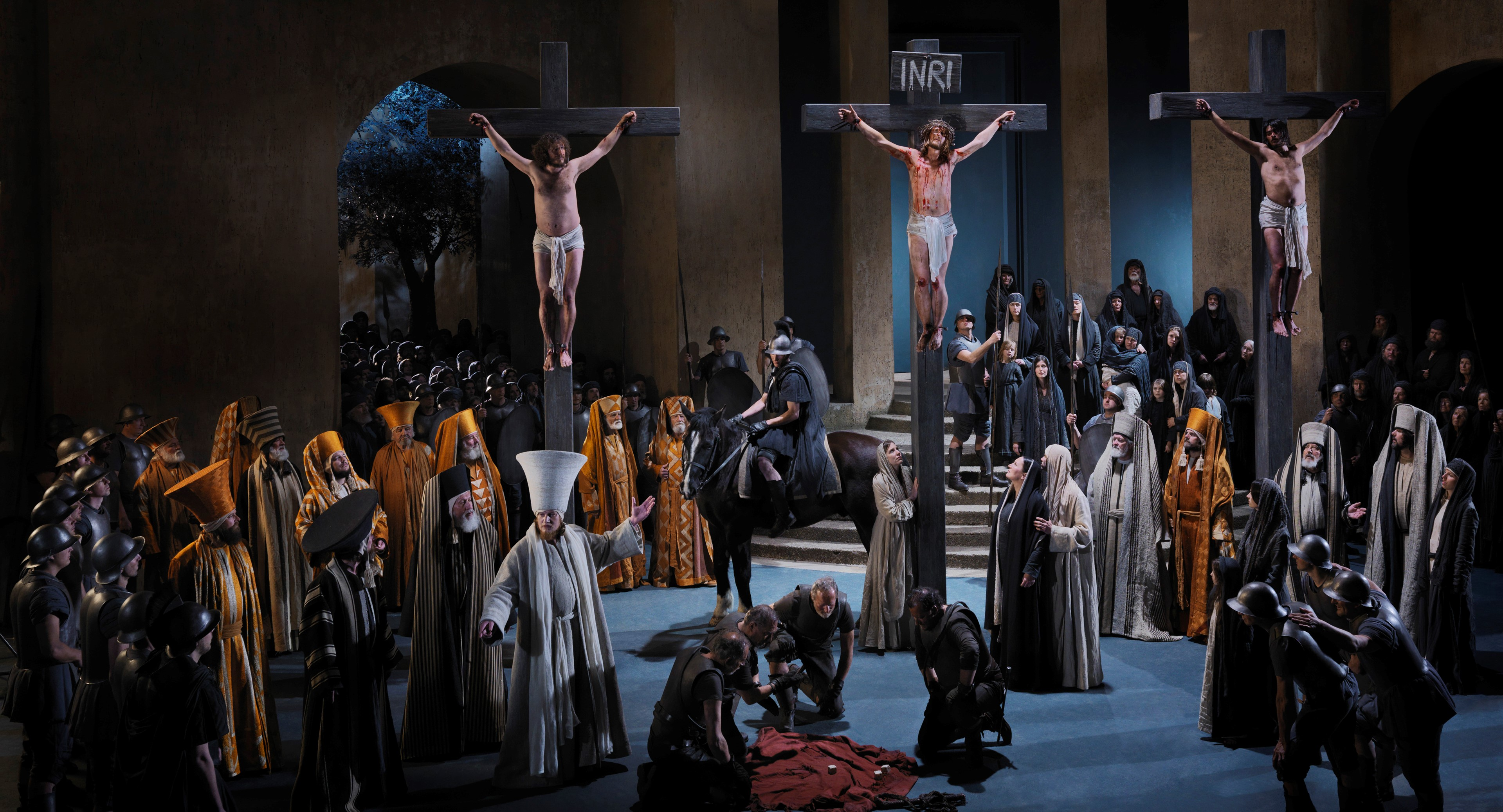 The iconic Passion Play in Oberammergau