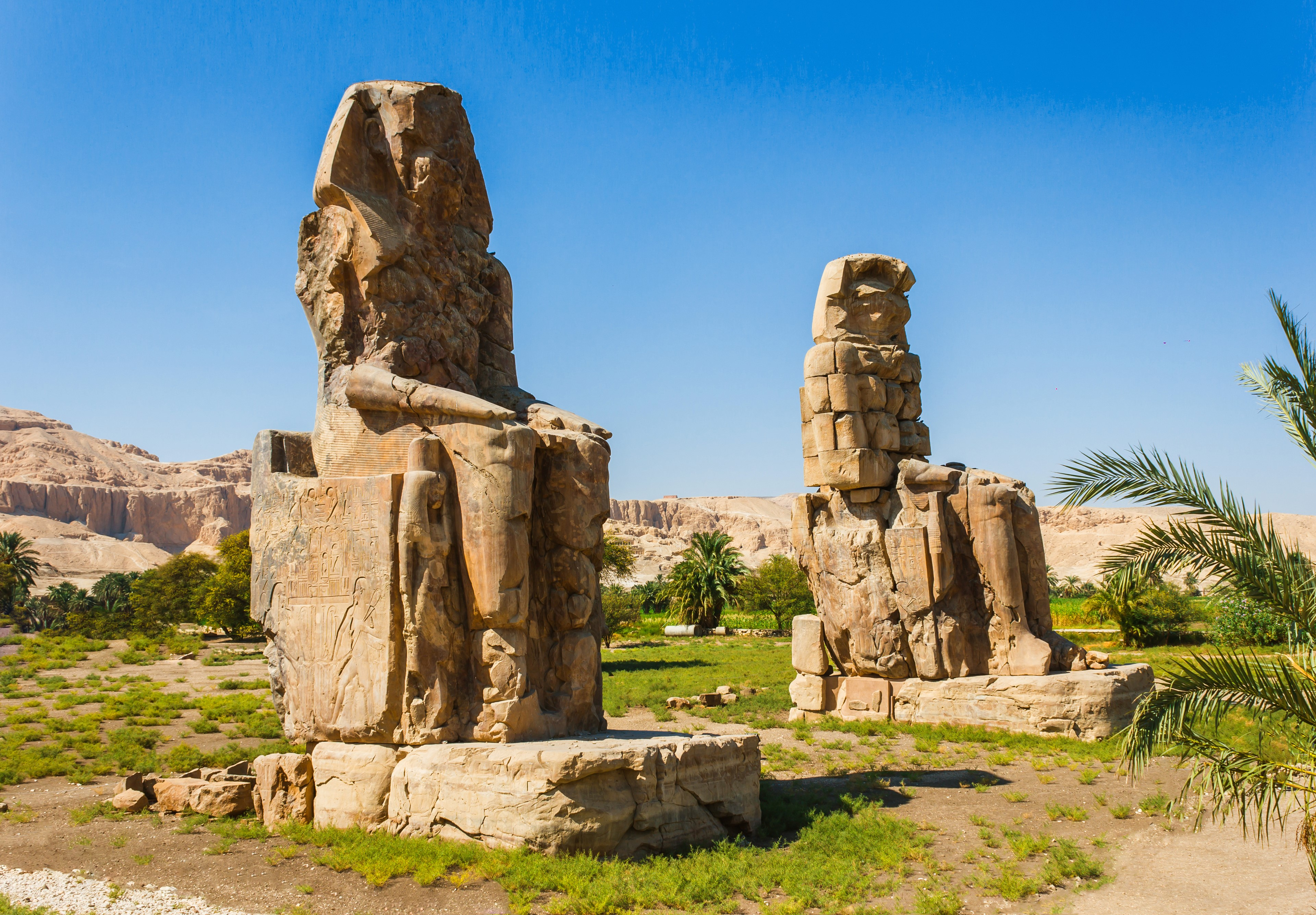 Colossi of Memnon, Valley of Kings